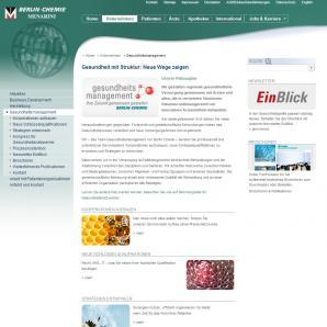 Berlin-Chemie AG: Unternehmen