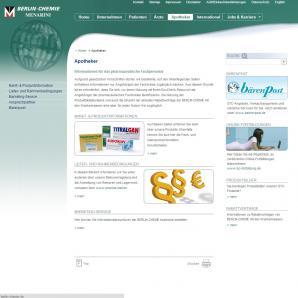 Berlin-Chemie AG: Apotheker